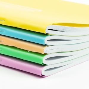 My Note - Mynote PRO A4 80 Yaprak Çizgili Okul Defteri Düz Renk 4068 (1)