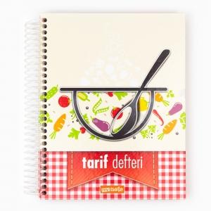 My Note - Mynote Seperatörlü Yemek Tarifi Defteri UC25036 9428