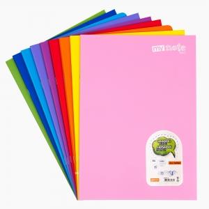 My Note - Mynote text A4 40 Yaprak Kareli Okul Defteri Düz Renk 2670