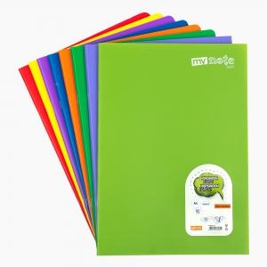 My Note - Mynote text A4 60 Yaprak Çizgisiz Okul Defteri Düz Renk 2694