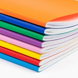 My Note - Mynote text A4 60 Yaprak Kareli Okul Defteri Düz Renk 2700 (1)