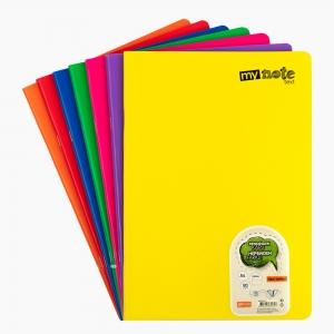 My Note - Mynote text A4 80 Yaprak Çizgili Okul Defteri Düz Renk 2717