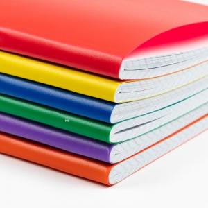 My Note - Mynote text A4 80 Yaprak Kareli Okul Defteri Düz Renk 2724 (1)