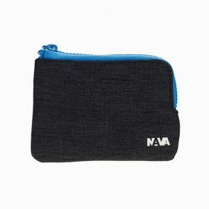 Nava Design - Nava Design Passanger Slim Bozuk Para Çantası Mavi/Açık Mavi 3964