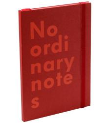 Nava Design - Nava Desing No Ordinary Kırmızı A6