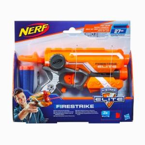 Nerf - Nerf N-Strike Elite Firestrike Turuncu 53378 3793