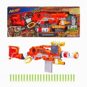 Nerf - Nerf Zombie Strike Survival System Scravenger Blaster 1705