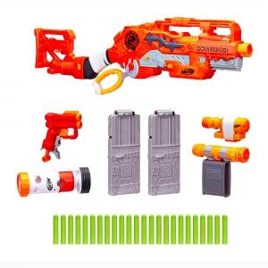 Nerf - Nerf Zombie Strike Survival System Scravenger Blaster 1705 (1)
