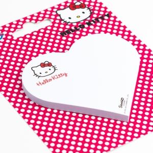 Notix - Notix Hello Kitty Kalp Yapışkanlı Not Kağıdı 2462 (1)