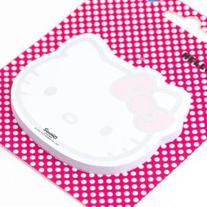 Notix - Notix Hello Kitty Şekilli Yapışkanlı Not Kağıdı 2455 (1)