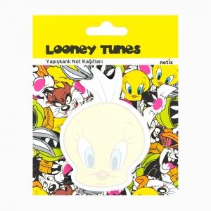 Notix - Notix Looney Tunes Şekilli Yapışkanlı Not Kağıdı 4626