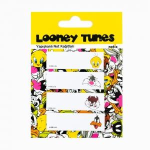 Notix - Notix Looney Tunes Yapışkanlı Ayraç Not Kağıdı 4633