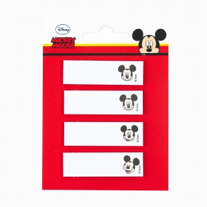 Notix - Notix Mickey Mouse Yapışkanlı Ayraç Not Kağıdı 2530