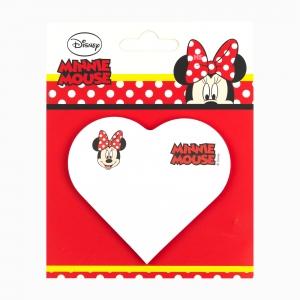 Notix - Notix Minnie Mouse Kalp Yapışkanlı Not Kağıdı 5111