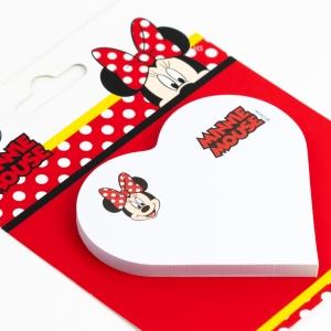 Notix - Notix Minnie Mouse Kalp Yapışkanlı Not Kağıdı 5111 (1)