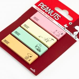 Notix - Notix Peanuts Yapışkanlı Ayraç Not Kağıdı Renkli 4541 (1)