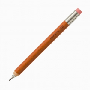 Ohto - OHTO Maruta Sharp Pencil Ahşap 2.0 mm Mekanik Kurşun Kalem Turuncu APS-680M-OR 1659
