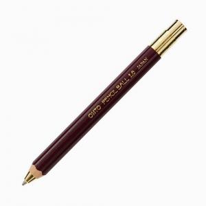 Ohto - OHTO Pencil Ball 1.0 Tükenmez Kalem Bordo BP-680E-EN 7980