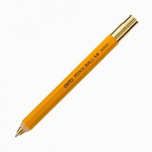 Ohto - OHTO Pencil Ball 1.0 Tükenmez Kalem Sarı BP-680E