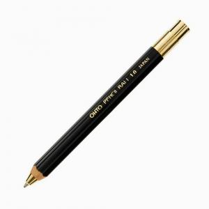 Ohto - OHTO Pencil Ball 1.0 Tükenmez Kalem Siyah BP-680E-BK 8000