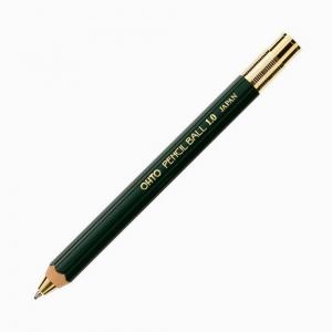 Ohto - OHTO Pencil Ball 1.0 Tükenmez Kalem Yeşil BP-680E-GN 7973
