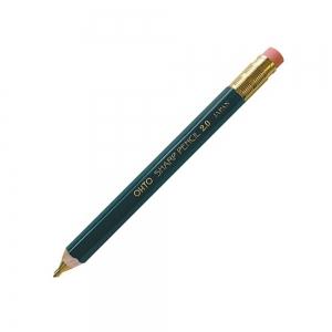 Ohto - OHTO Sharp Pencil Ahşap 2.0 mm Mekanik Kurşun Kalem Yeşil APS-680E-BK
