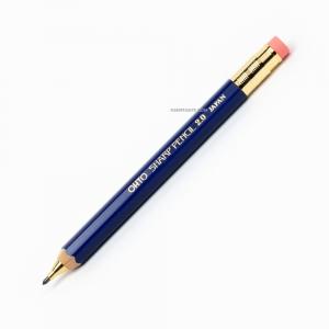 OHTO Sharp Pencil Ahşap 2.0 mm Mekanik Kurşun Kalem Mavi APS-680E-BL 6029 - Thumbnail