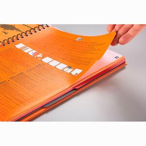 Oxford Filingbook A4 Kareli Defter Siyah 5019 - Thumbnail