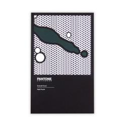 Deffter - PANTONE Emerald Forest Night Purple 11.5X18.5 Noktalı Defter