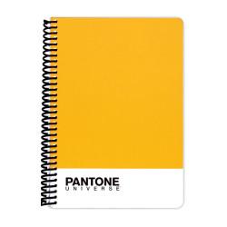 Deffter - PANTONE Sarı A5 Çizgili Defter