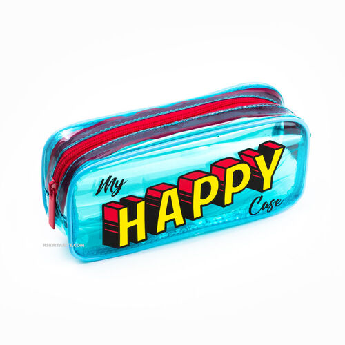 Pape My Happy Case Şeffaf Kalem Çantası 6273
