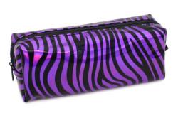 Pape - Pape Zebra Desen Silikon Mor