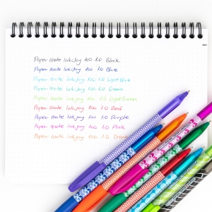 Paper Mate - Paper Mate Ink Joy 100 1.0 Tükenmez Kalem Pink 8459 (1)