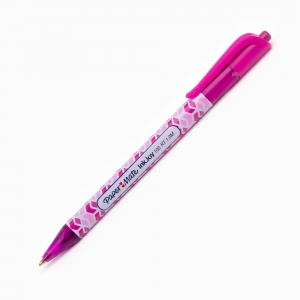 Paper Mate - Paper Mate Ink Joy 100 RT 1.0 Tükenmez Kalem Pink 8558