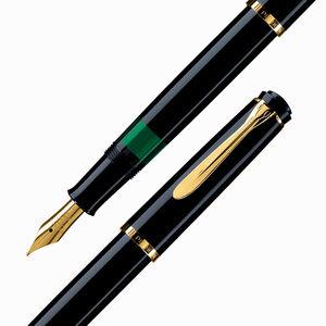 Pelikan - Pelikan M200 Siyah Dolma Kalem B Uç (1)