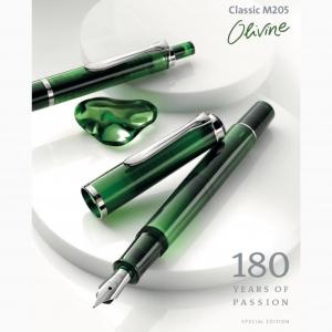 Pelikan M205 Olivine Special Edition Dolma Kalem Mürekkep Set - Thumbnail