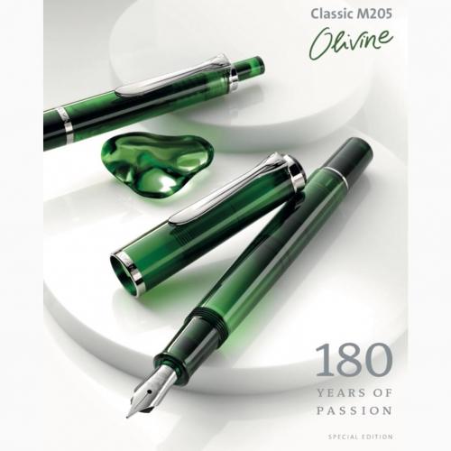 Pelikan M205 Olivine Special Edition Dolma Kalem