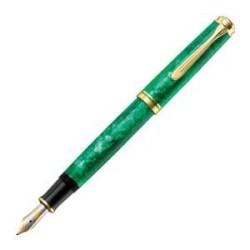 Pelikan - Pelikan M600 Vibrant Yeşil Dolma Kalem Sınırlı Üretim