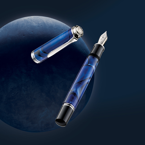 Pelikan Souveran M805 Blue Dunes Special Edition Dolma Kalem