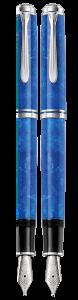 Pelikan - Pelikan Souveran M805 Vibrant Blue Dolma Kalem