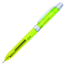 Penac - Penac Ele Şeffaf Multi Pen Neon Yeşil Set