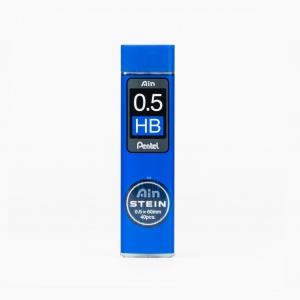 Pentel - Pentel Ain Stein 0.5 mm HB 40'lı Min (Uç) C275-HB 9249