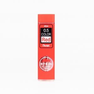 Pentel - Pentel Ain Stein 0.5 mm Kırmızı 20'li Min (Uç) C275-RD 9317