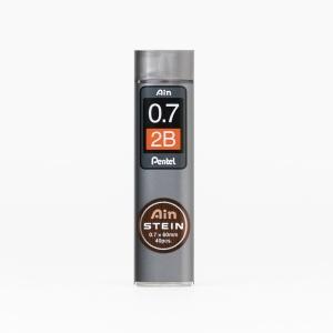 Pentel - Pentel Ain Stein 0.7 mm 2B 40'lı Min (Uç) C277-2B 9331