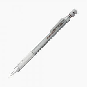 Pentel - Pentel GraphGear 500 0.3 mm Mekanik Kurşun Kalem Gri PG513-E 3595