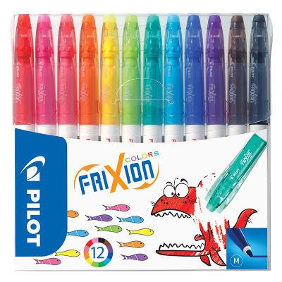 Pilot Frixion Colors 12'li Silinebilir Keçeli Kalem Seti 3888