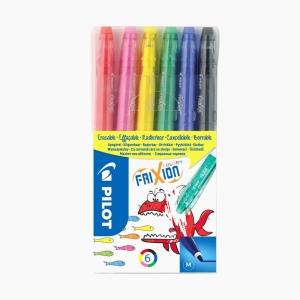 Pilot - Pilot Frixion Colors 6'lı Silinebilir Keçeli Kalem Seti 3871