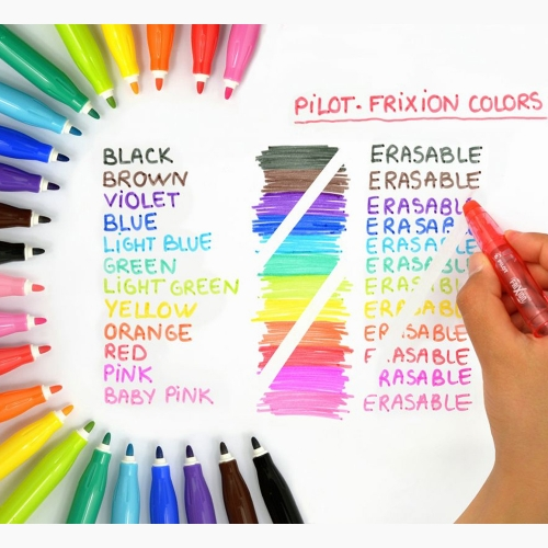 Pilot Frixion Colors Silinebilir Keçeli Kalem Turuncu 3697