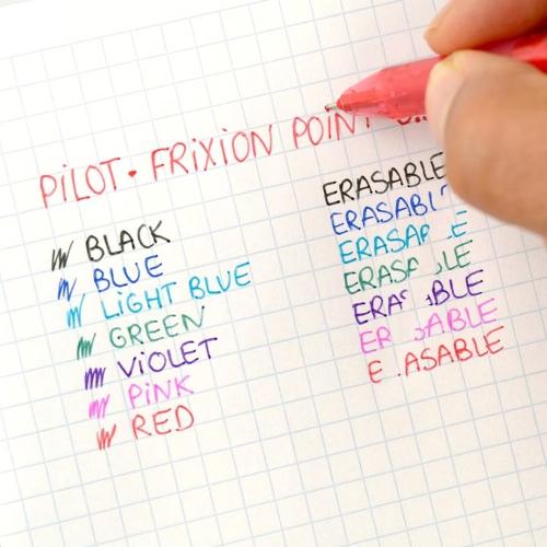 Pilot Frixion Point İğne Uçlu Silinebilir Jel Kalem Açık Mavi 9268