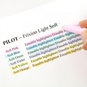 Pilot - Pilot Frixion Silinebilir İşaretleme Kalemi Pastel Sarı 3845 (1)